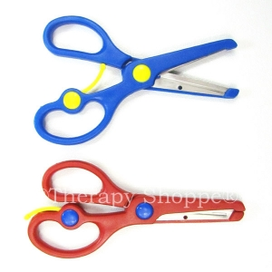 Self-Opening Safety Scissors