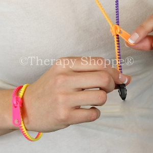 Zipper Fidget Jewelry