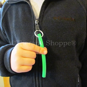 Zipper Pull Chew Tubes