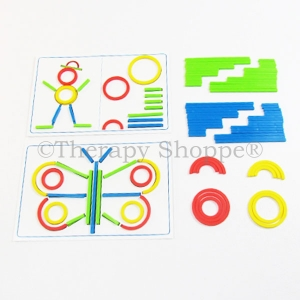 Sticks and Rings (Visual Motor Playset)