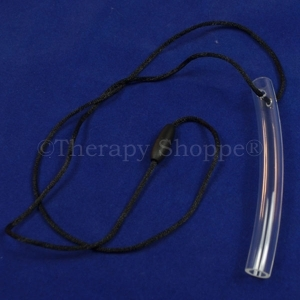 Clear Chewable Tubes Necklace