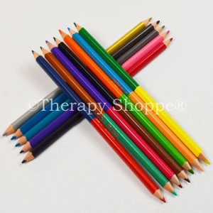 Double-Ended Colored Pencils