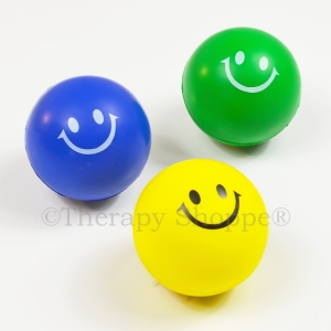 Smiley Squeeze Ball