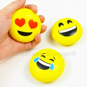 Funny Faces Emoji Fidget Balls | Autism Specialties | Funny Faces