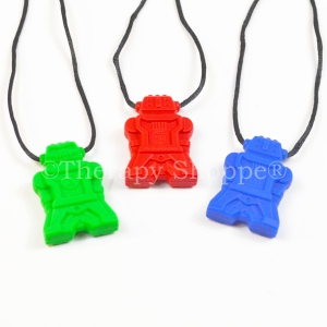 Robot Chewy Necklaces