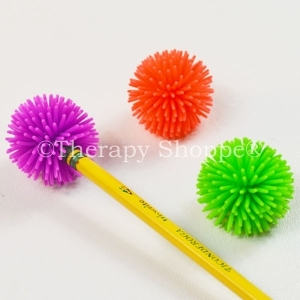 12 Porcupine Pencil Toppers