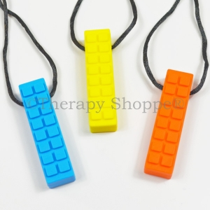 Tactile Brick Chew Necklace