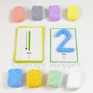 Playfoam Numbers and Shapes Set