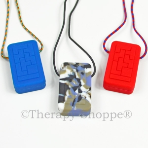 Chunky Blocks Chewy Necklace