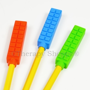Brick Chewy Pencil Toppers