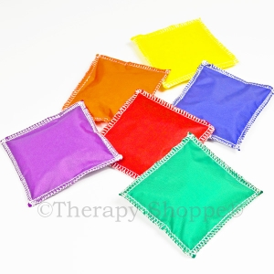 Nylon Beanbags 6-Pack