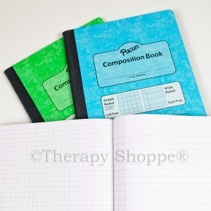 Dual Ruled Composition Notebook