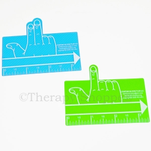 Green One Finger Spacers 2-pk