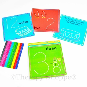 Wikki Stix Numbers Cards Kit