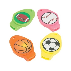 Super Sale Sports Whistles 7-pk