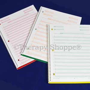Super Sale Green Just the Write Size Spiral Notebook