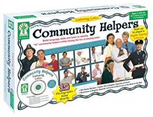 Super Sale Community Helpers Learning Cards