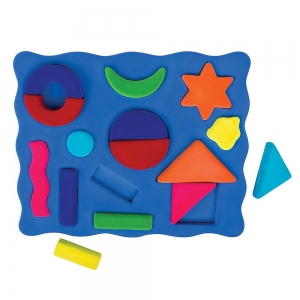 Super Sale Fuzzi Flock Shape Sorting Set