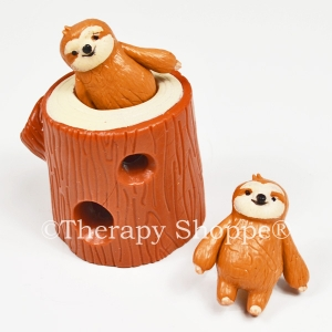 Super Stretchy Sloths in a Stump Fidget