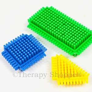 Tactile Bristle Fidgets™ 3-pack