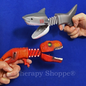 Shark and Dino Chompers