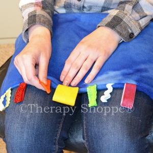 Fiddle Ribbons Weighted Lap Pads™