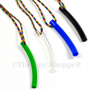 Chewable Tubes Necklaces™ With Multicolored Cords