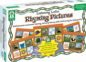 Super Sale Rhyming Pictures Learning Cards