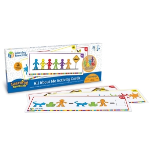 Super Sale All About Me Activity Cards