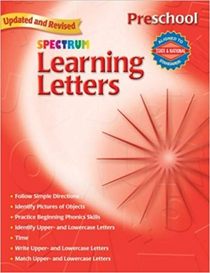 Super Sale Spectrum Learning Letters Book