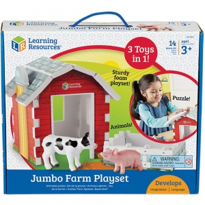Super Sale Jumbo Farm Play Set