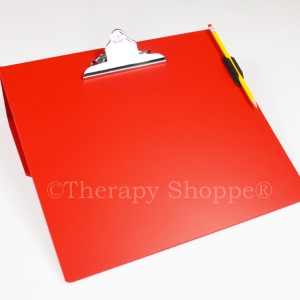 Super Sale Red Primary Writing Slantboard (with a free pencil clip)