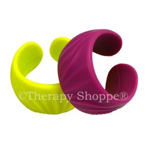 Ridged Chewy Cuff Bracelet for Teens