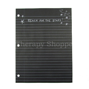 Black Notebook Paper