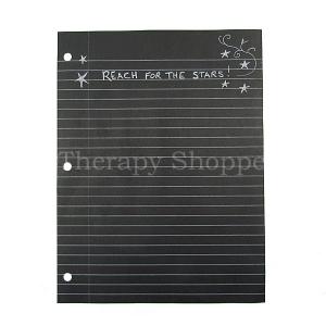 Black Notebook Paper
