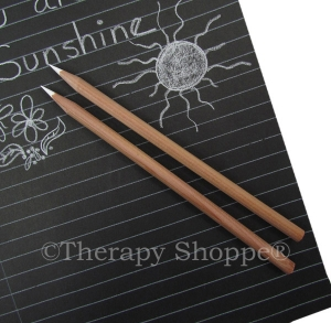 White Charcoal Pencils 2-pk