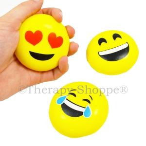 Funny Faces Emoji Fidget Balls