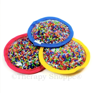 Teeny Beads & Letters Circles 3-pk