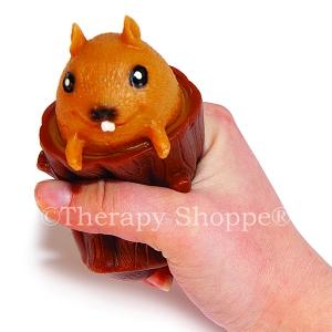 Pop Up Squirrel in a Stump