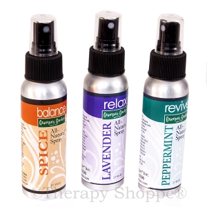 All Natural Essential Oil Sprays