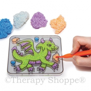 Play Foam Coloring Tray