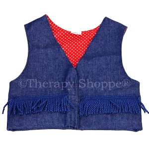 Fringy Fidget™ Weighted Vests