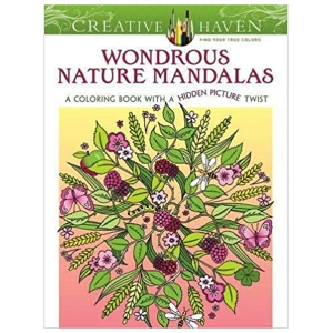 Wondrous Nature Mandalas Coloring Book
