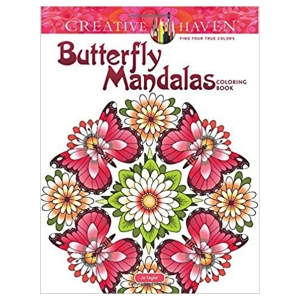 Butterfly Mandalas Coloring Book
