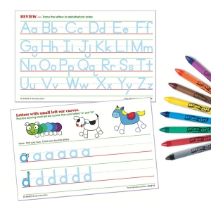 Alphabet Letters Wipe-off Cards