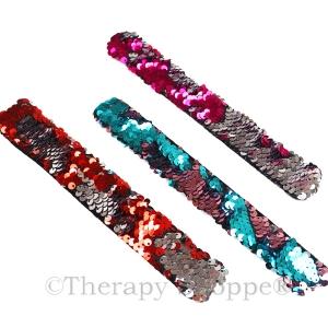 Sequin Snap Fidget Bracelets