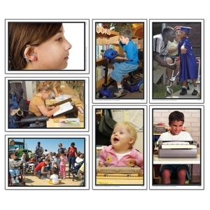 Super Sale Children With Challenges Photographic Learning Cards