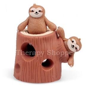 Stretchy Sloths in a Stump Fidget