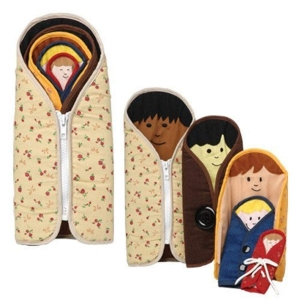 Super Sale Dressed to Nest Cloth Play Dolls