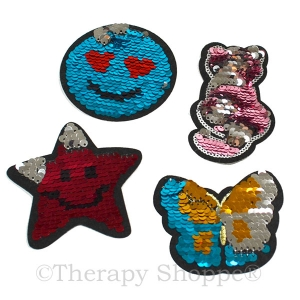 Sequin Fidget Stickers